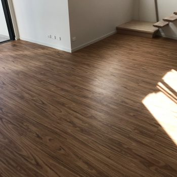 Vinyl flooring with sound proofing